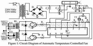 Automatic Temperature Controlled Fan  U2013 Electronics Project