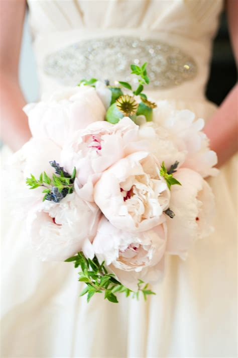 Peony Wedding Bouquet Flowers