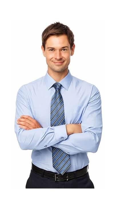 Businessman Conosco Trabalhe