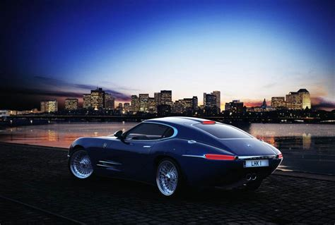 Jaguar E-type-inspired Lyonheart K