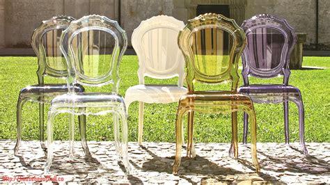 chaise style baroque pas cher chaises plexi pas cher