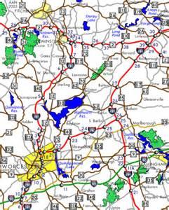 Map Interstate 290 Massachusetts