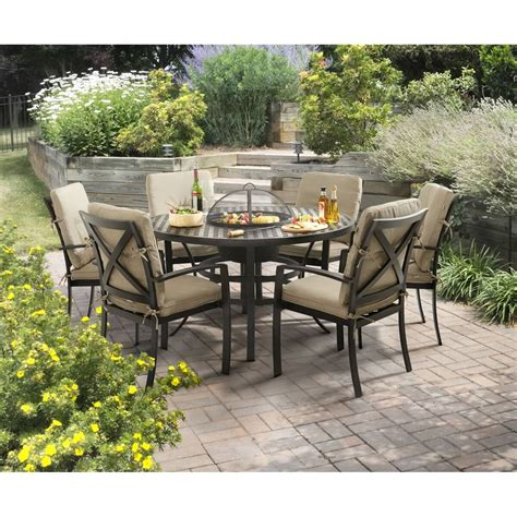 Garden Furniture by Oliver Contemporary Grilling Furniture 4 Seat Set
