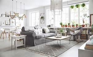 Tapis Salon Scandinave : la maison scandinave amazing meuble cuisine meuble cuisine cocktail scandinave intressant ~ Teatrodelosmanantiales.com Idées de Décoration