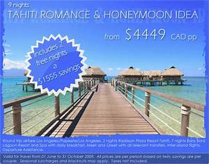 tahiti romance honeymoon packages all inclusive With all inclusive honeymoon packages usa