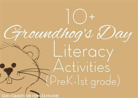 groundhog day preschool activities groundhog s day literacy activities 163