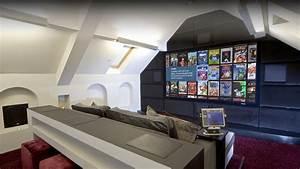 Bespoke Attic Home Cinema In London Installation