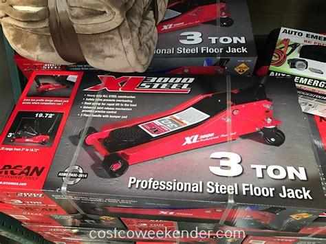 arcan xl3000 3 ton professional steel floor costco weekender