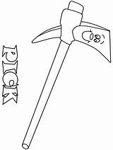 Coloring Pages Pick Construction Printable Axe Colouring Pickaxe Coloringpagebook Tools Coloringpages101 Brush sketch template