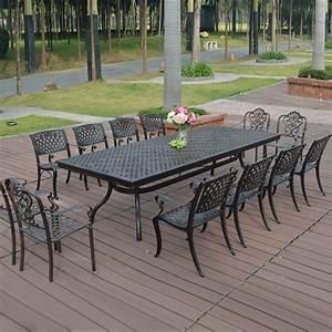 Stunning Table De Jardin Fonte D Aluminium Gallery