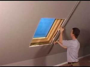 Dachfenster Innen Verkleiden : einbau innenfutter velux youtube ~ Watch28wear.com Haus und Dekorationen