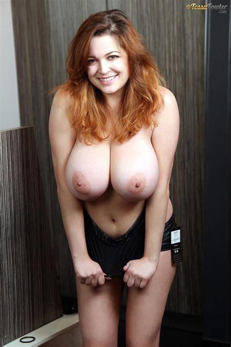 Busty Redhead Tessa Fowler Halloween Fishnet – The Boobs Blog