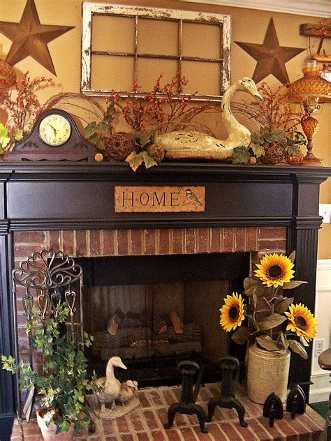 Prim Mantel Display Love The Old Window Stars Above
