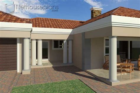 bedroom single storey house plan  sale sqm nethouseplansnethouseplans