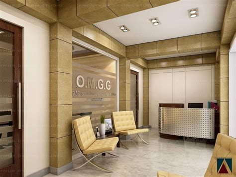 office reception interiors office reception area by anonymusdesignstudio on Modern