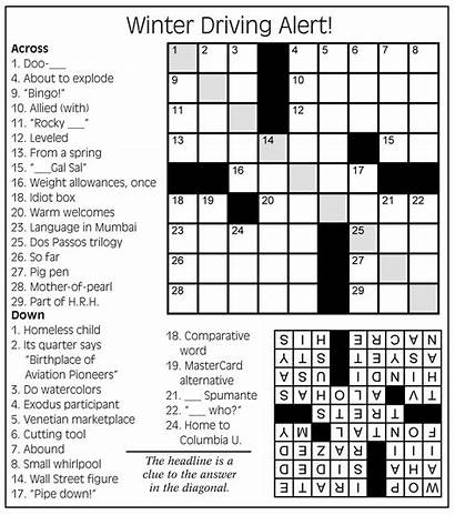 Crossword Puzzle Newsletter Cleaning August Service January