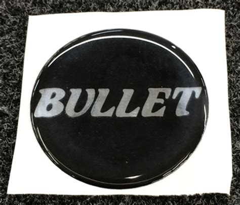 Bullet Boats Steering Wheel by Bullet Logo Domed Steering Wheel Center Badge Decal