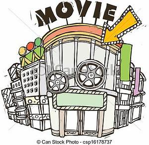 Cinema Clipart (60+)