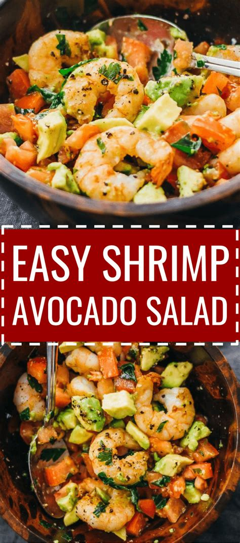 180 g rice flour 50 g corn flour 50 g thai spicy shrimps salad (plah koong). Here's a delicious and healthy cold shrimp salad with avocado, tomatoes, feta cheese, and lemon ...
