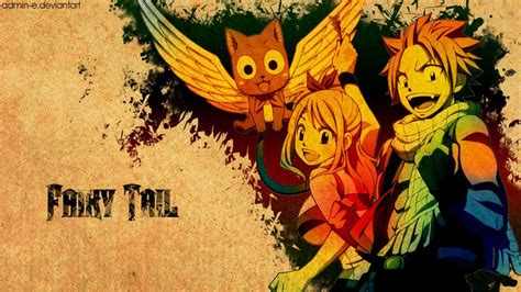 logo fairy tail fond  ecran page  fairy tail