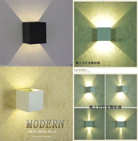 12w led indoor outdoor wall sconce up down light fixture