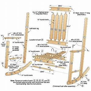 Woodwork Easy Rocking Chair Plans PDF Plans