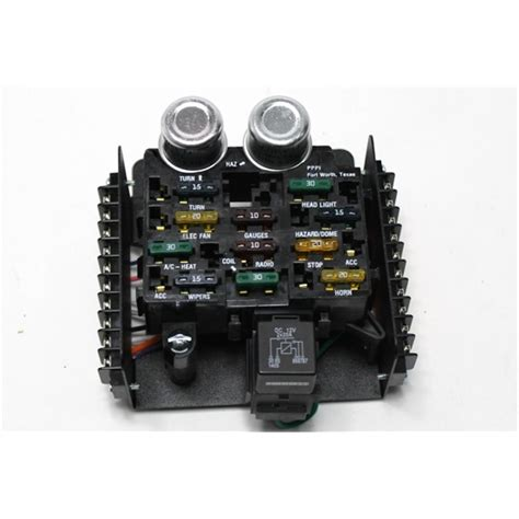 garage sale painless wiring 30001 universal 12 circuit fuse block free shipping speedway