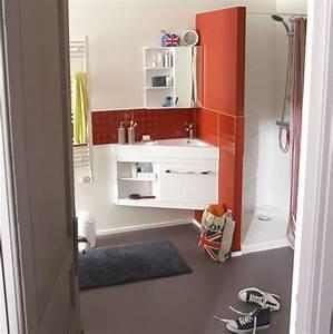 Meuble Pour Petite Salle De Bain : un meuble triangle astucieux pour les petites salles de bains petites salles de bain petite ~ Melissatoandfro.com Idées de Décoration