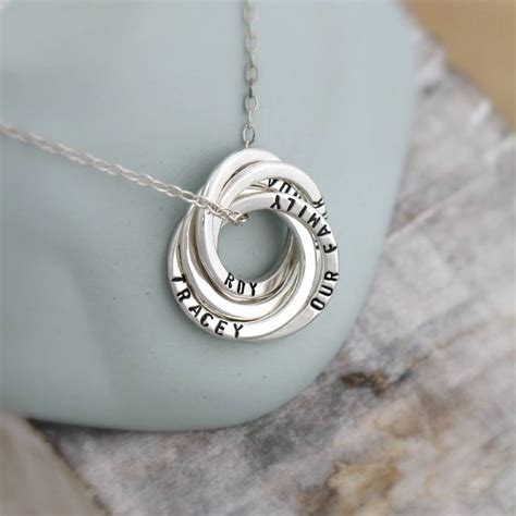 Personalised Russian Ring Necklace By Posh Totty Designs. Golden Dragon Wedding Rings. Woman 3 Carat Wedding Rings. Square Round Wedding Rings. Classy Mens Wedding Rings. Machined Engagement Rings. Award Rings. 2in1 Wedding Rings. Newborn Rings