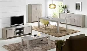 salle a manger contemporaine chene gris tristan salle a With meubles de salon roche bobois 4 une deco zen dans le salon