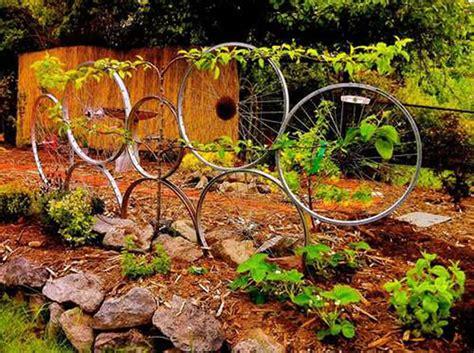 Dekoratives Aus Holz Selber Machen by Decora Tu Jard 237 N Con Ruedas De Bicicletas