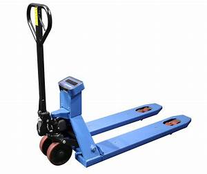 Scale Manual Pallet Jack Truck 4400lbs Capacity With 45 3
