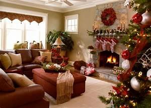 40 Fantastic Living Room Christmas Decoration Ideas - All