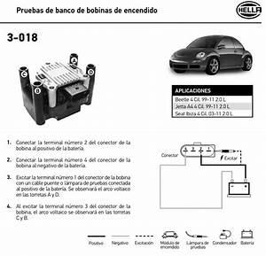 Bobina Hella Para Golf A4  Jetta A4  Polo  Lupo  Gol  Saveiro  Ibiza Mk2  Mk3  C U00f3rdoba Mk1  Mk2