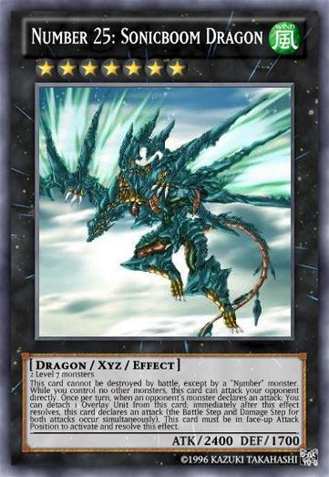 number  sonicboom dragon yu gi  card maker wiki