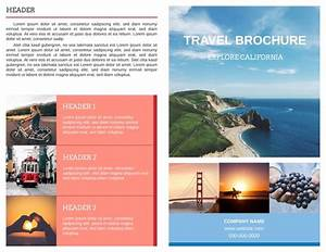 free travel brochure templates examples 8 free templates With traveling brochure templates