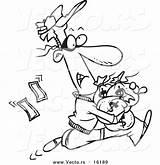 Cash Register Coloring Drawing Leishman Ron Template Cartoon Wait sketch template