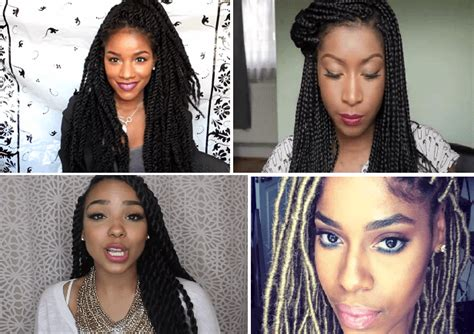 Stylish Black Braided Hairstyles To Rock This Summer (2015