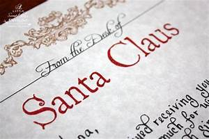 1000 ideas about santa letter on pinterest letter from With handwritten letter from santa