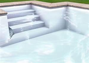 Piscine Liner Blanc : liner piscine 75 100 me blanc ~ Preciouscoupons.com Idées de Décoration