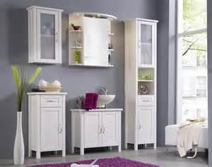 badezimmer möbel badezimmer kommode badschrank 1 türig weiß kiefer möbel gewachst