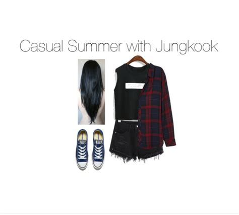 Casual Summer with BTS! I tried making the... - Kpop Outfits