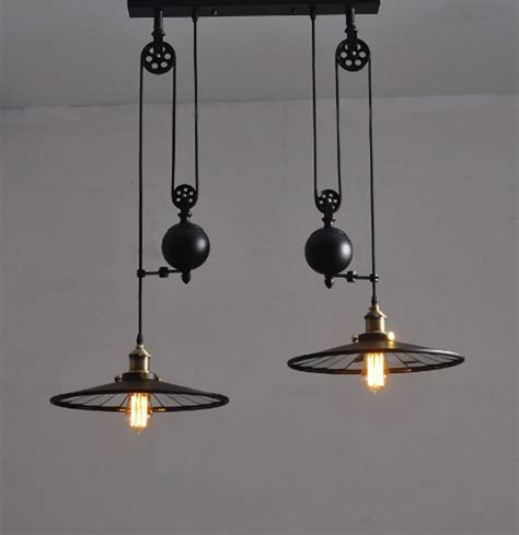 kitchen rise fall lights kitchen pulley lights retro style