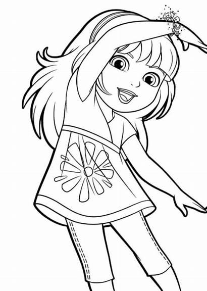 Dora Friends Coloring Pages Kleurplaten Kleurplaat Fun