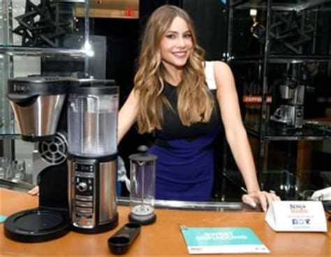 sofia vergara coffee celeb sightings sofia vergara celebrates national coffee