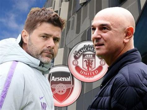 Man Utd and Arsenal handed blow in Pochettino pursuit ...