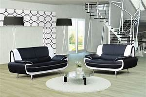 canape design 32 bregga noir blanc noir gris blanc With canapé et fauteuil design
