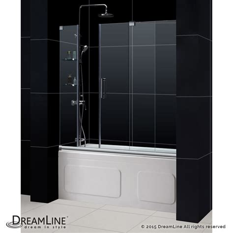 shower tub door mirage sliding tub door