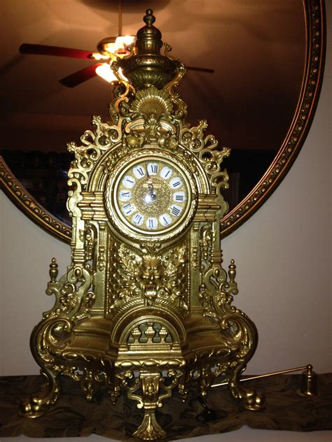 imperial clock   germany nice  sale antiques