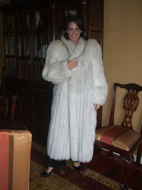fur coat annalisa love fox fur coat